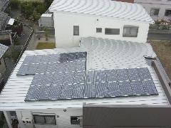 太陽光発電施工事例住宅用M様